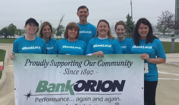BankORION at the Childrens' Therapy 5K Run