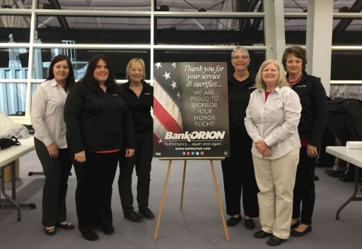 BankORION Participates in the Honor Flight of the Quad Cities