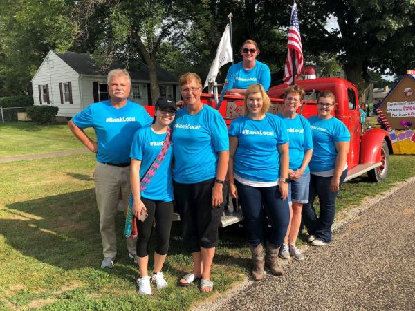 BankORION Participates in New Windsor Fair and Rodeo Parade